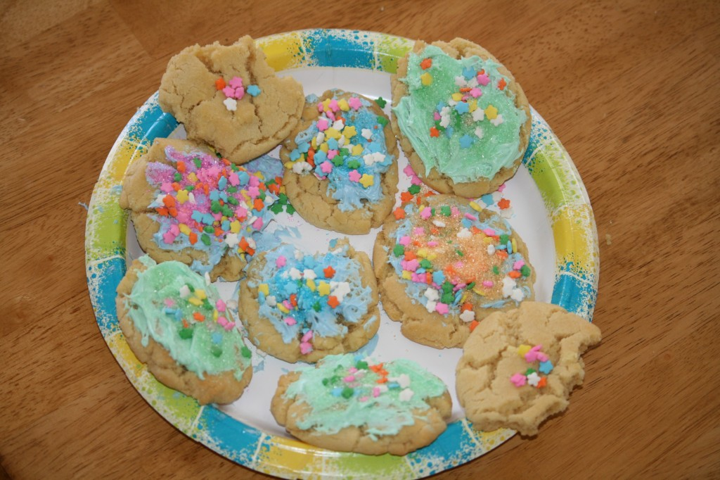 cookies with bites