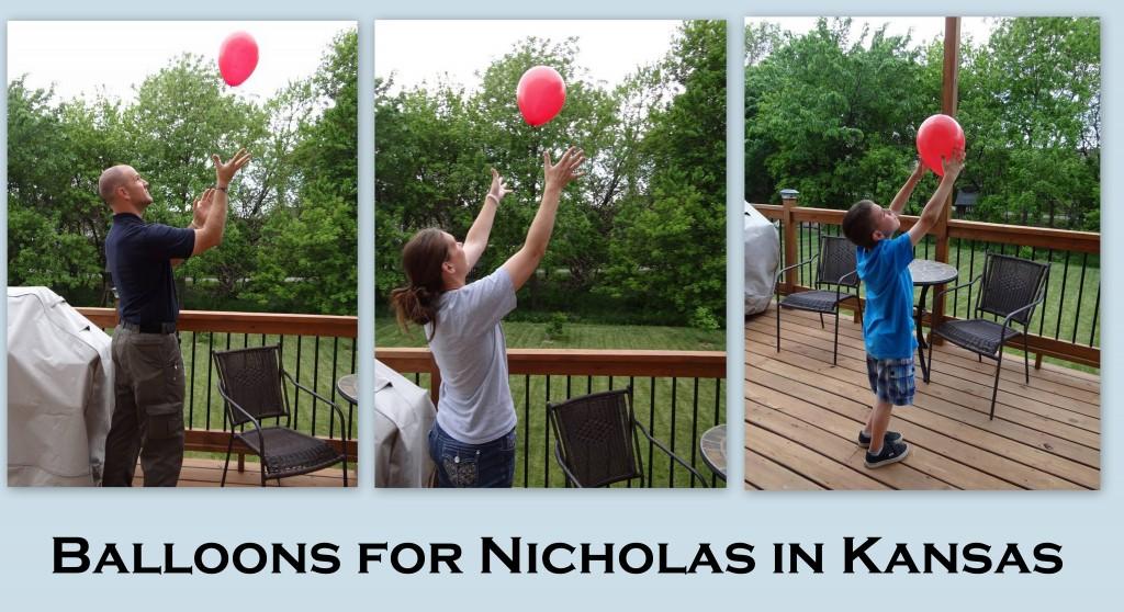 Balloons for Nick- Kansas
