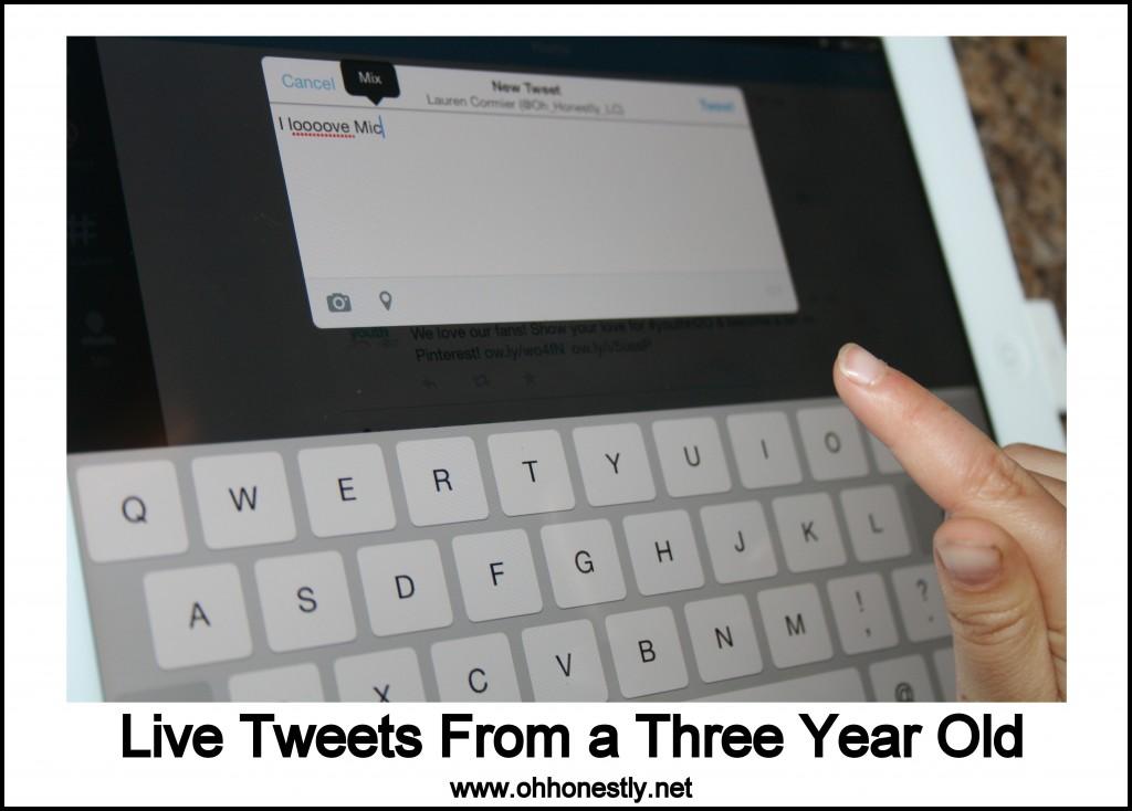 kid tweets