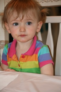 To Annelise, on your second birthday