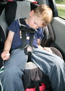 family road trip naps