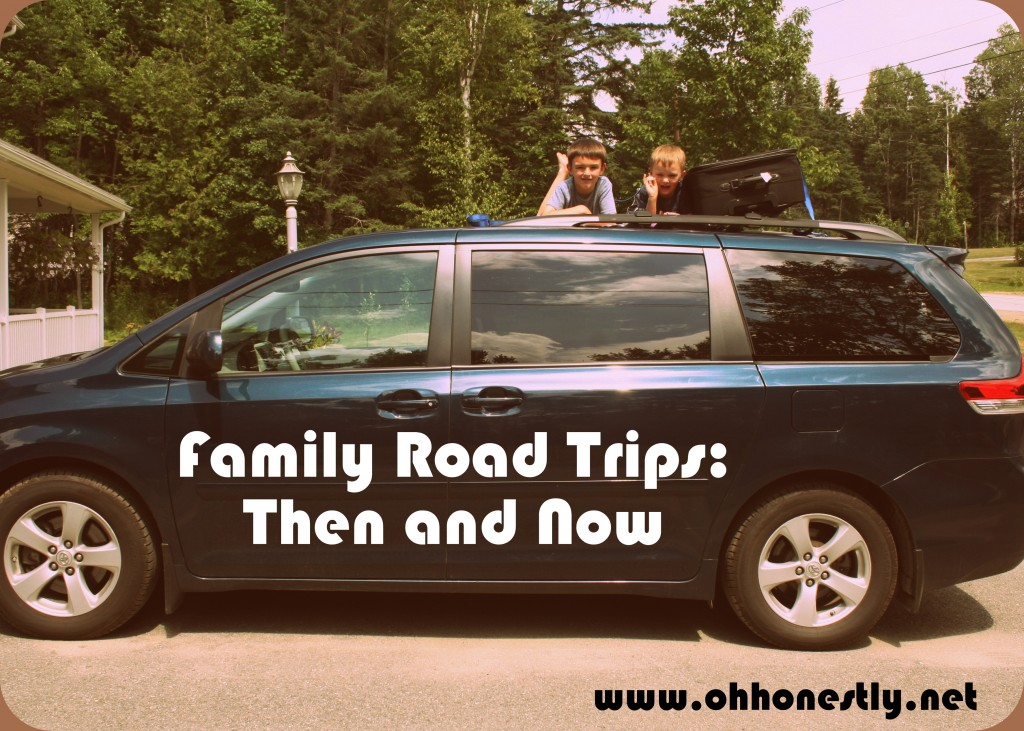 family road trips then and now
