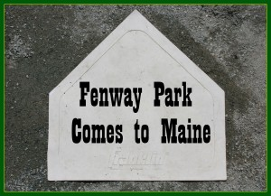 Fenway Park comes to Maine