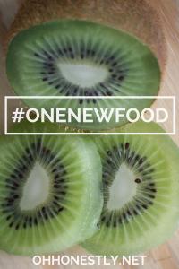 #ONENEWFOOD- Kiwi