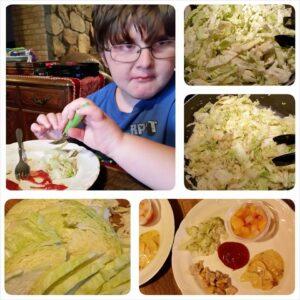 Cabbage... yuck.