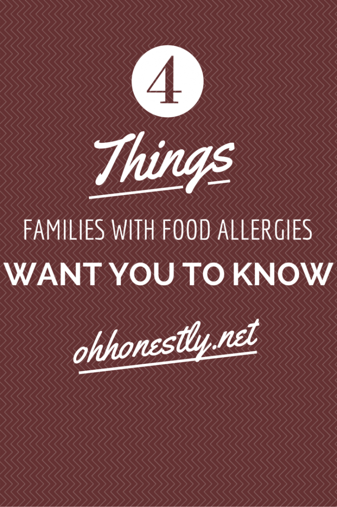 Four Things Families With Food Allergies Want You to Know