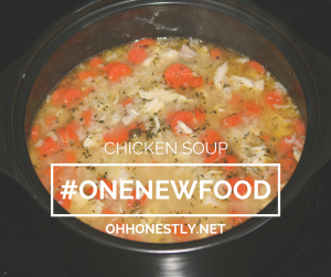 #ONENEWFOOD: Soup