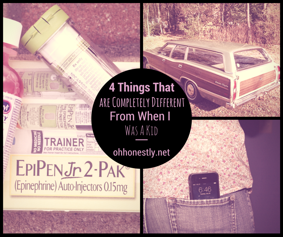 4 things that are completely different from when I was a kid