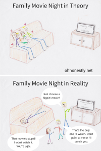 Meme Monday: Family Movie Night
