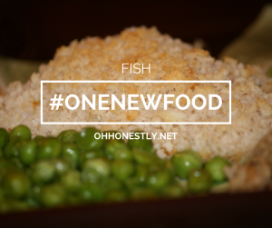 One New Food and Keeping It Real Challenge Week 39: Fish Recipes
