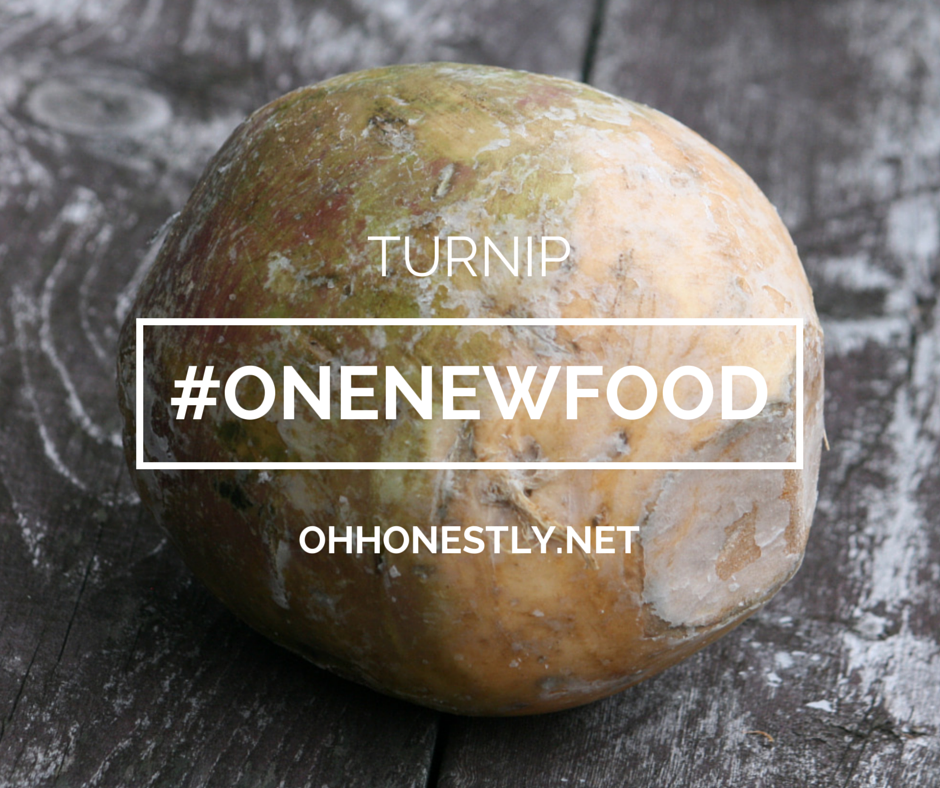 One New Food: Turnip