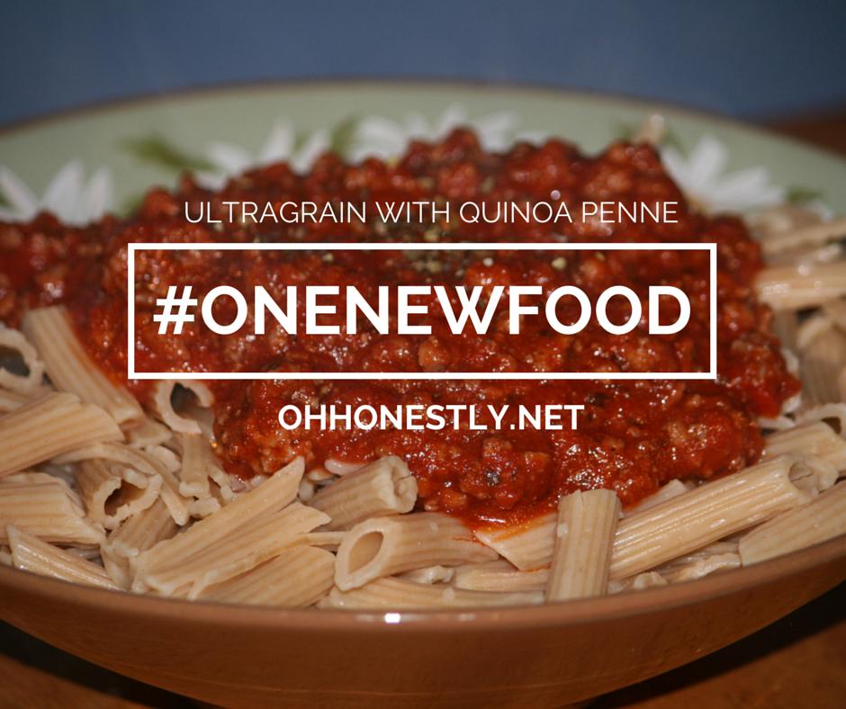 #ONENEWFOOD: Ultragrain with Quinoa Penne