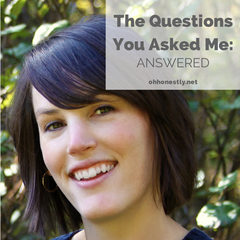 The Questions You Asked Me: Answered