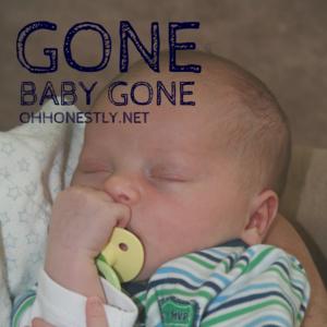 Week 37: Gone Baby Gone