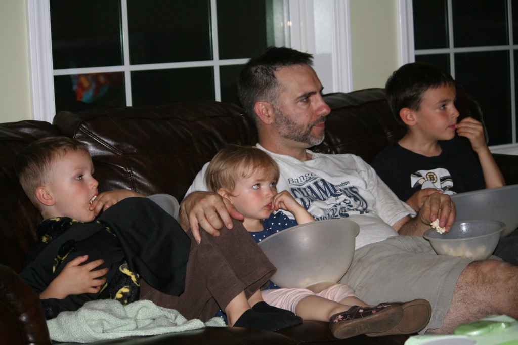 Popcorn and Rescuebots