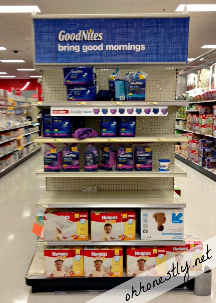 GoodNites at Target
