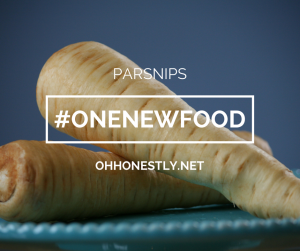 One New Food Parsnips