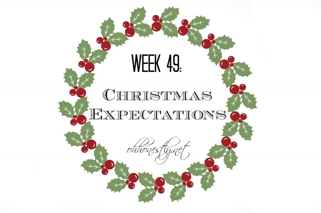 Week 49: Did Christmas Meet Your Expectations?