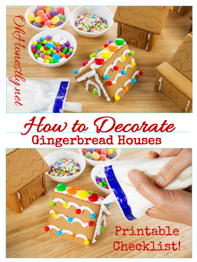 How To Decorate A Gingerbread House: The BEST Candy Ideas