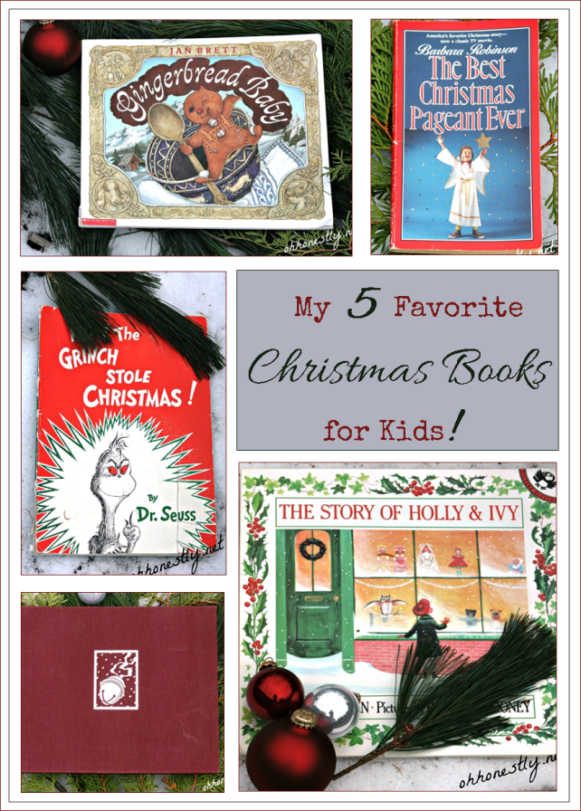 Five favorite Christmas books you shouldn't miss. Would you add any to this list?