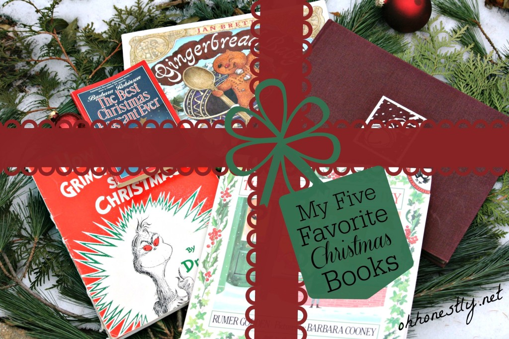 My Five Favorite Christmas Books