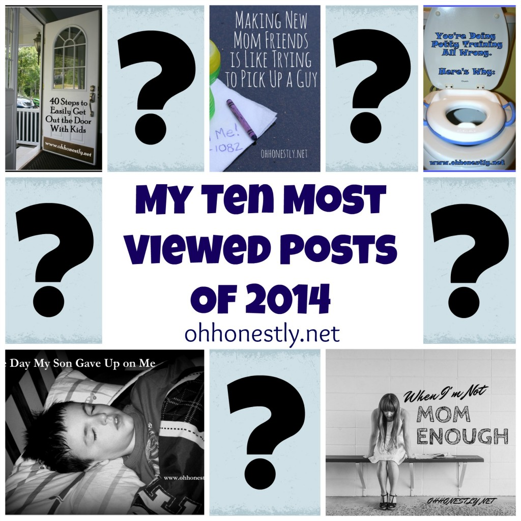 Ten Most Viewed Posts of 2014