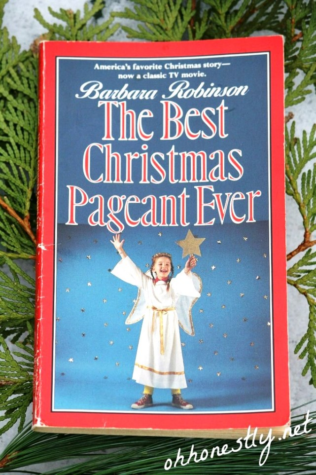 Top Christmas Book:  The Best Christmas Pageant Ever