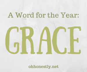 Word for the Year Grace