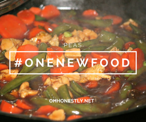 One New Food: Peas [Giveaway Ended]
