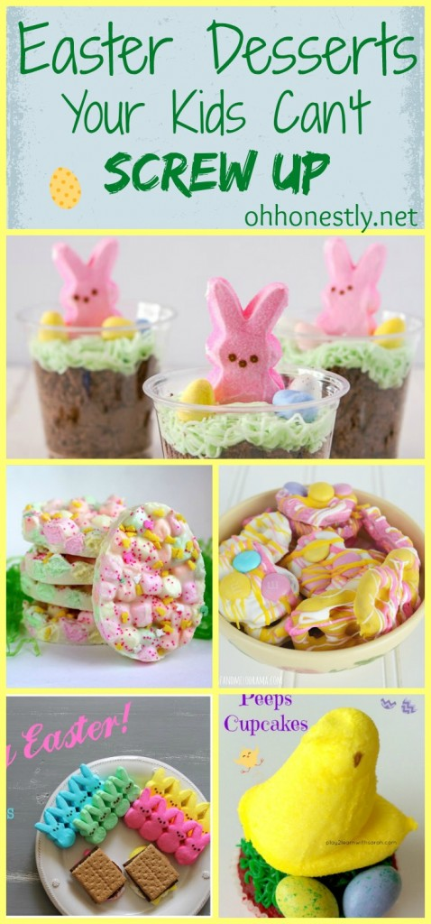 Easter Desserts Your Kids Can't Screw Up