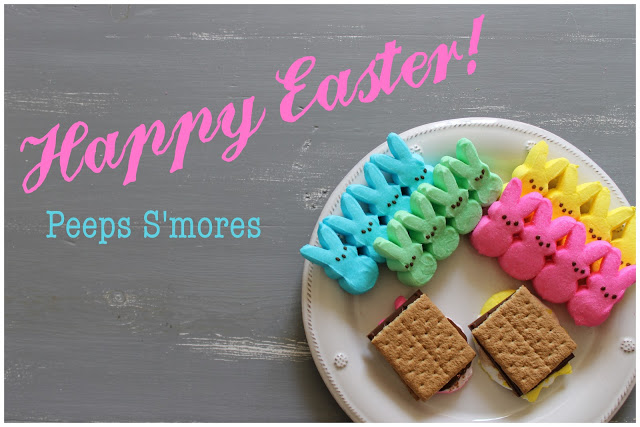 Easter Peep Smores