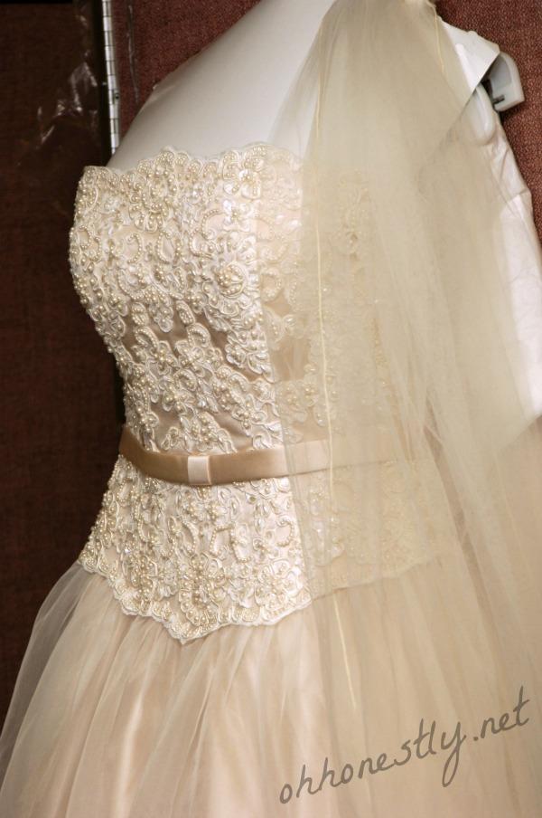 Wedding Dress First Fight