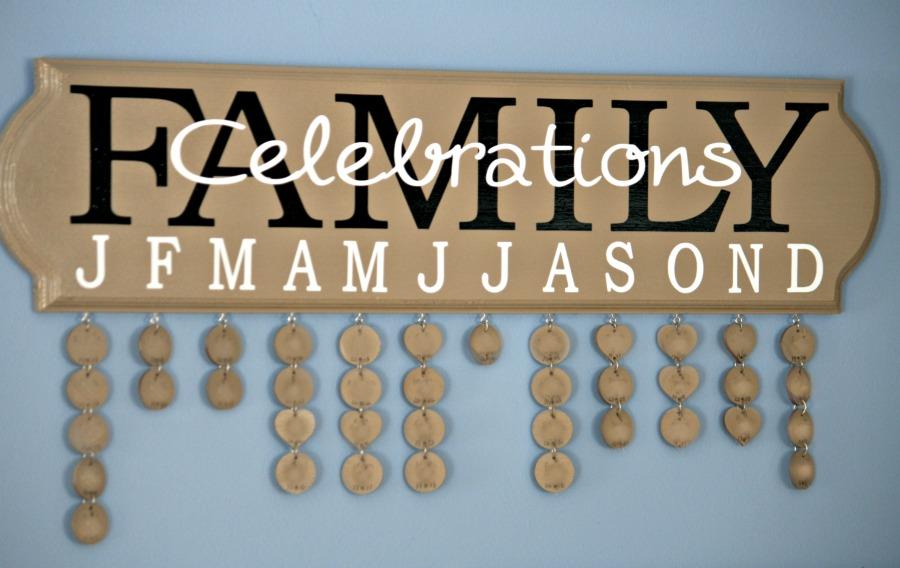Family Celebration Ideas Family Celebrations Board