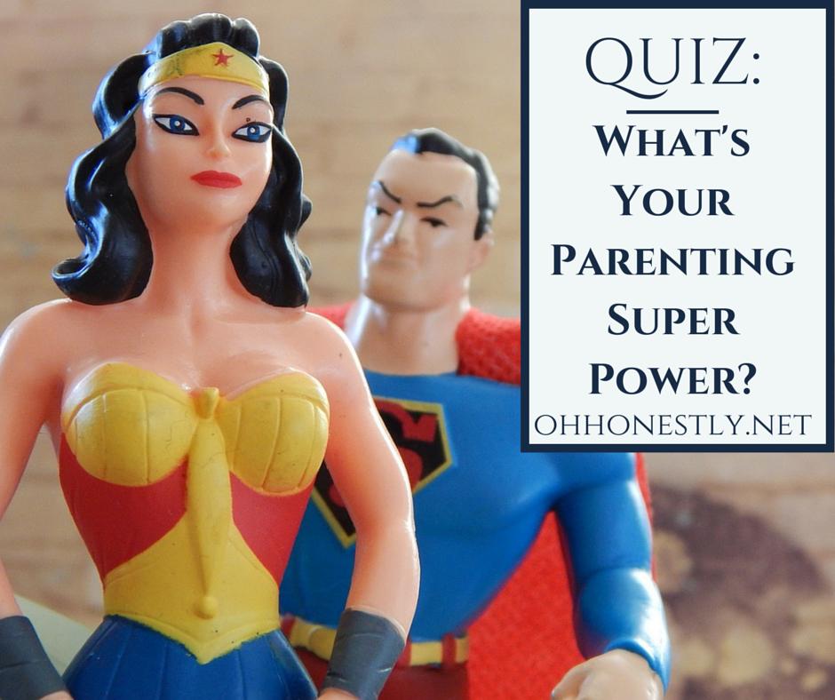Quiz: What's Your Parenting Super Power?