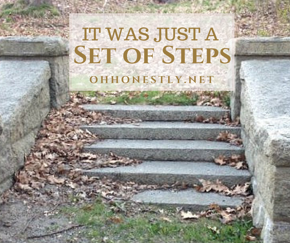 It Was Just a Set of Steps