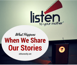 What Happens When We Share Our Stories