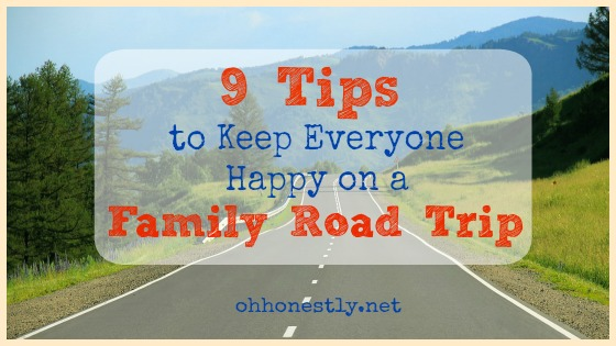 9 Tips to Keep Everyone Happy on a Family Road Trip