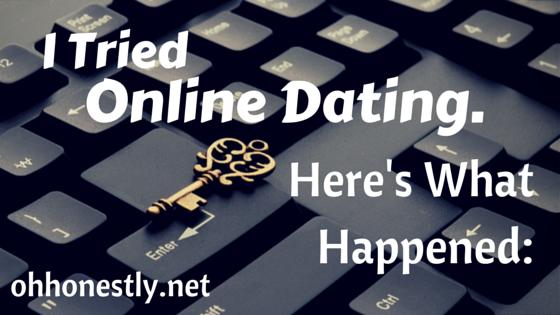 I Tried Online Dating. Here's What Happened: