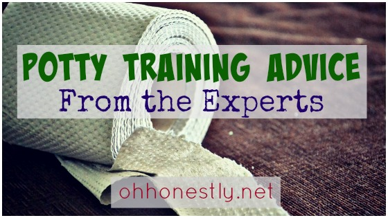 Potty Training Advice from the Experts