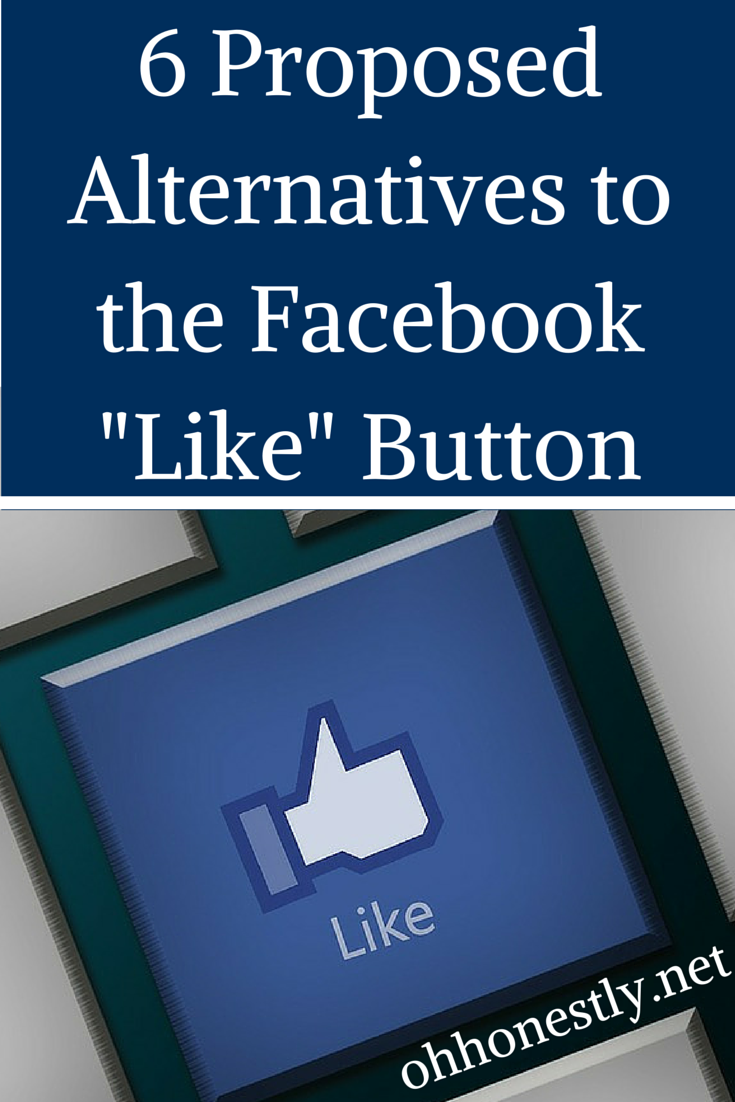 "For the times when the Facebook ""Like"" Button Doesn't Cut It"