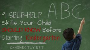 9 Self-Help Skills Your Child Should Know Before Starting Kindergarten