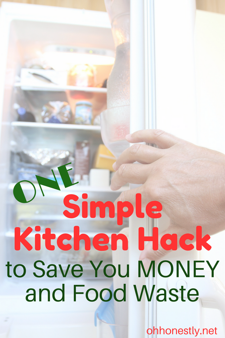 This simple kitchen hack is so easy I don't know why I didn't think of it years ago! Save yourself money and food waste with this two second trick.