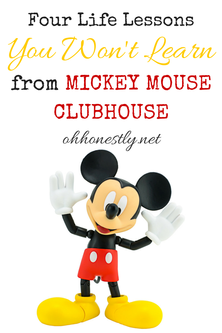4 Life Lessons You Won't Learn from Mickey Mouse Clubhouse Really Funny Pictures That Will Make You Pee Your Pants