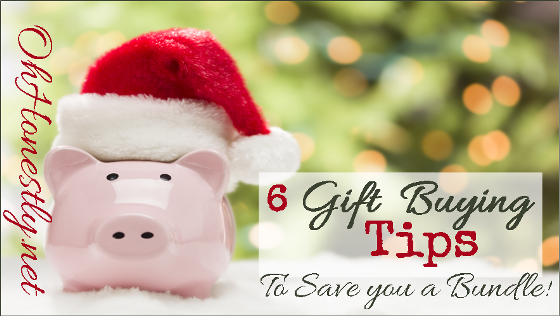 Six Holiday Gift Buying Tips to Save You a Bundle
