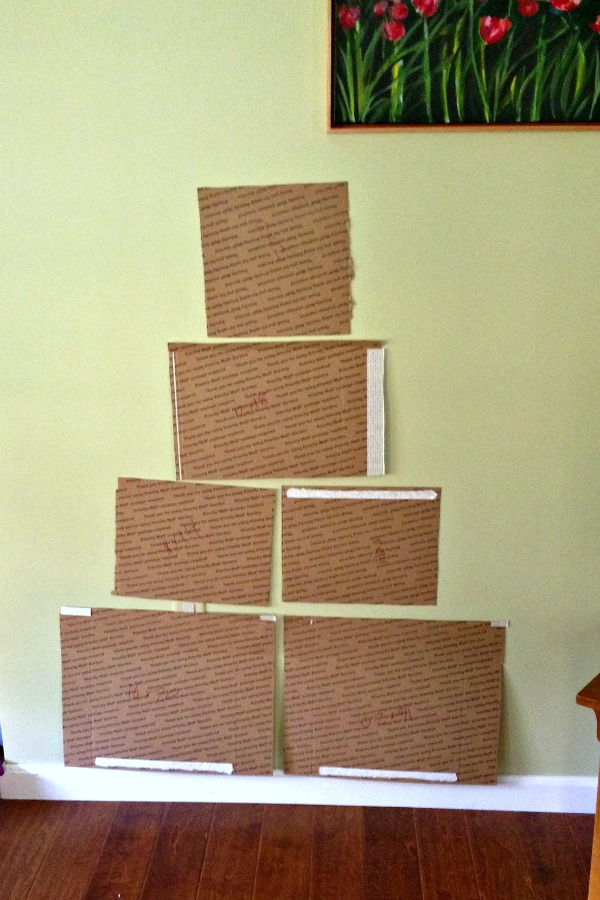 Photo Christmas Tree Template