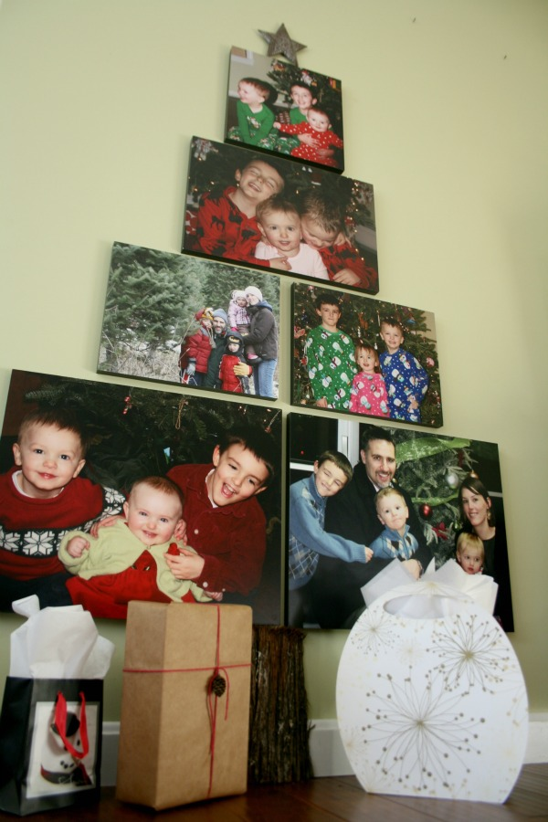 DIY Photo Tree
