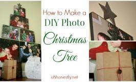 How to Make a DIY Photo Christmas Tree