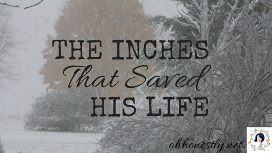 The Inches That Saved His Life