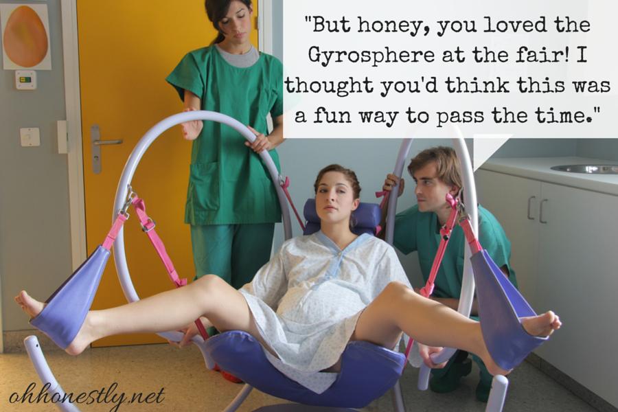 Hilariously wrong stock childbirth photos