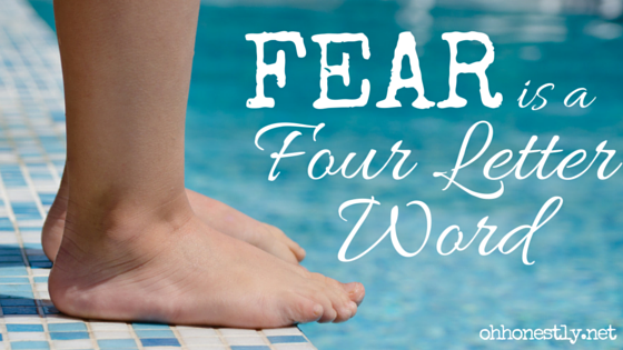 Is fear holding you back from doing things you want to try?